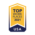 Top Places to Work 2021
