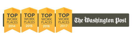 Four-time Washington Post Top Workplaces Winner